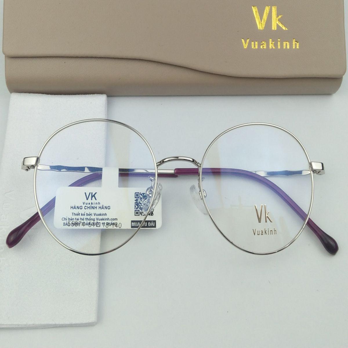 Gọng kính cận tròn thời trang VK-44