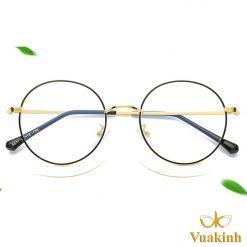 Gọng kính cận nữ mặt tròn V309
